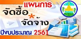 แผนการจัดหาพัสดุและแผนปฏิบัติการจัดซื้อจัดจ้าง (เพิ่มเติม) ประจำปีงบประมาณ 2561